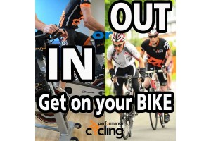 In or out - get on your bike!