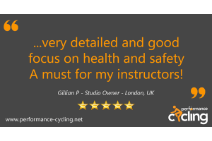 Performance Cycling Certification Review - Gillian P - London