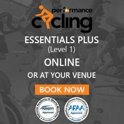 1 Day Studio Cycling Training (Performance Cycling Level 1)