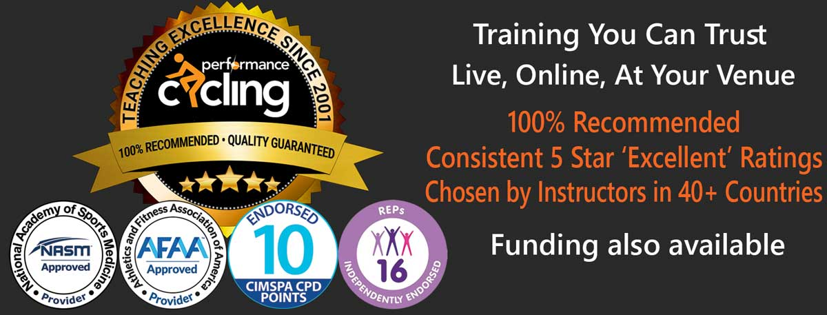 Performance Cycling - 100% recommended, UK and USA approved training