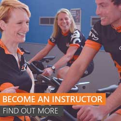 Become an indoor cycling instructor