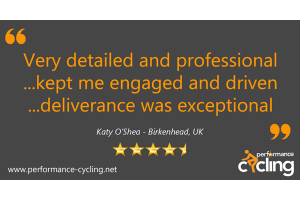 Performance Cycling Instructor Course Review - Katy O'Shea - Birkenhead
