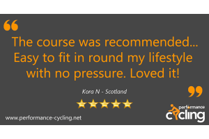 Performance Cycling Instructor Certification Review Kora Nicholson - Scotland