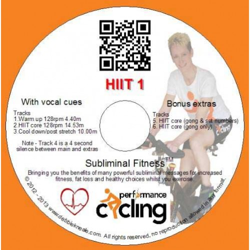 HIIT1 CD with Bonus tracks